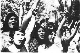 Miembras del Movimiento Estudiantil Chicano de Aztán, MECHA. Foto: amechacentral.tripod.com.