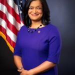 Representante demócrata del estado de Washington, Pramila Jayapal. Foto: Wikipedia.