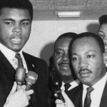 Muhammad Ali y Martin Luther King Jr. Foto: https://www.biography.com.