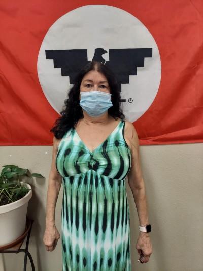 Rosa López, trabajadora de Foster Farms por 33 años. Foto: La Unión de Campesinos, UFW.