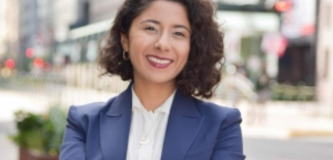 Lina Hidalgo Directora Ejecutiva del Condado Harris, Texas. Foto: Texas Medical Center.