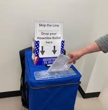 Asegúrese de depositar su boleta electoral en los buzones específicos para depositar su voto. Foto: https://www.orangecountygov.com.