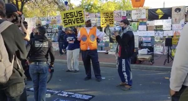 Protestas postelectorales en Washington, DC.
