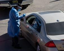 La ciudad ha expandido sitios de pruebas de COVID-19. Foto: Corrie Boudreaux / El Paso Matters.