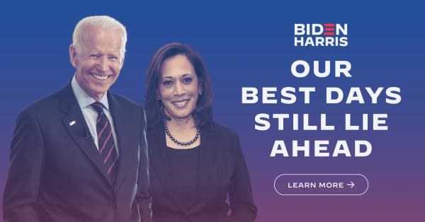 Presidente y Vicepresidente electos de Estados Unidos comienzan nueva era. Foto: Sitio web del equipo de campaña de Biden.