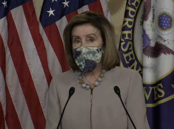 Nancy Pelosi, Presidenta de la Cámara de Representantes de EE UU.