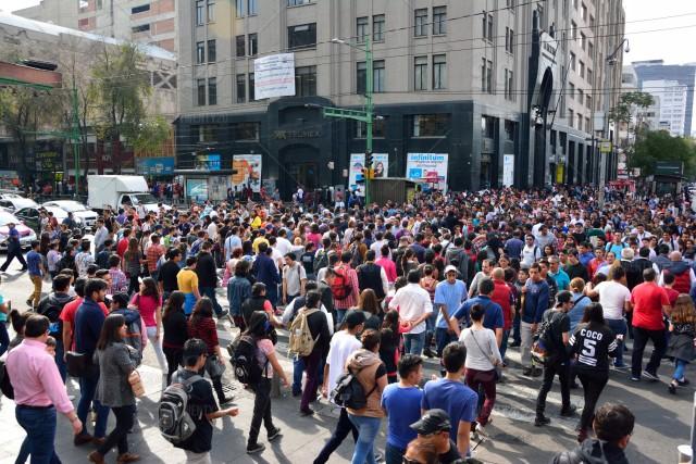 Un vistazo a una de las céntricas de la Ciudad de México  un día de semana. Foto: https://www.twenty20.com.