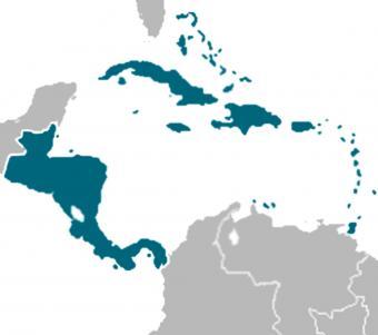 Mapa de la migración a EE UU desde Centroamérica y El Caribe. Foto: https://www.migrationpolicy.org.