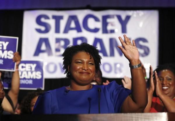 Stacey Abrams, principal arquitecta del triunfo electoral demócrata recién consumado en Georgia ganando los escaños del Senado. Foto: https://prospect.org/AP.