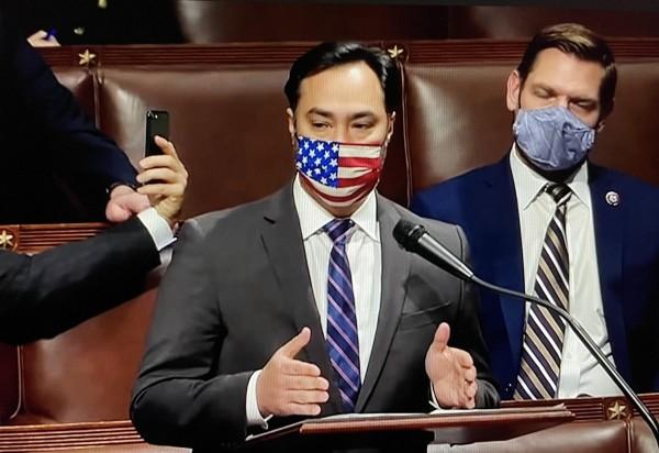 Congresista demócrata de Texas, Joaquín Castro, designado como uno de los 10 fiscales acusadores que participarán en el juicio político contra Donald Trump en el Senado.