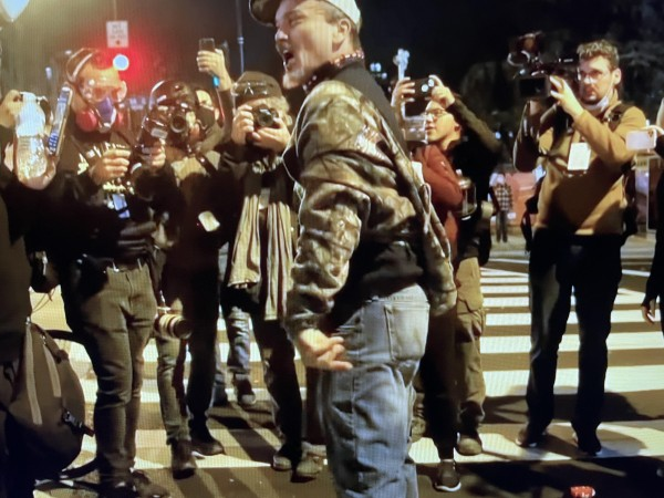 Uno de los cabecillas trumpistas que asaltaron  el Capitolio en Washington, D.C.