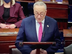 Senador demócrata de Nueva York, Charles Schumer.