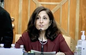 Neera Tanden,  nominada a la Oficina de Programación y Presupuesto de la Casa Blanca.