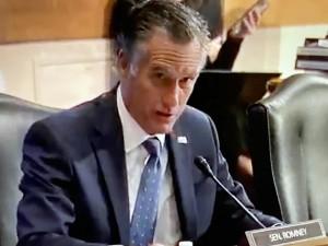 Mitt Romney, senador republicano de Utah.