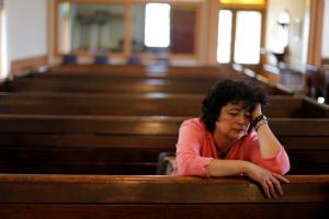 Rosa Sabido reflexiona sobre su situación, refugiada en Iglesia Santuario