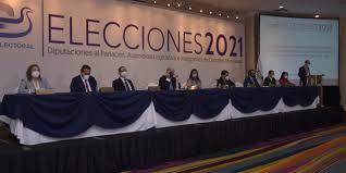 Candidatos políticos en El Salvador.