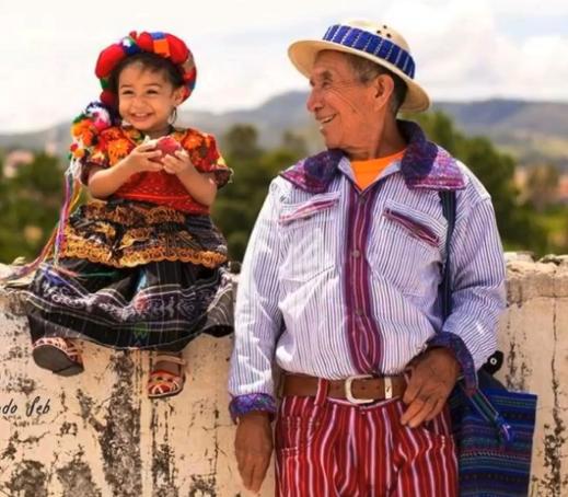 Imágenes de la Cultura Maya / Mam de Guatemala. Foto: Radio B'alam.