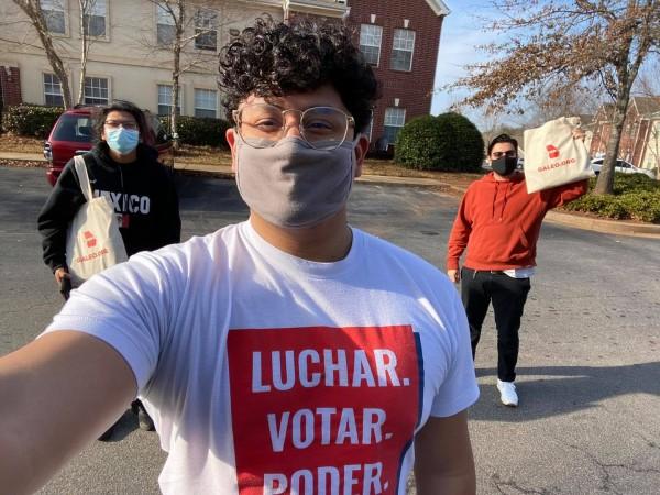 Miembros de varias organizaciones se han unido para hacer llamadas a legisladores para que no se aprueben leyes de supresión del voto en Georgia.