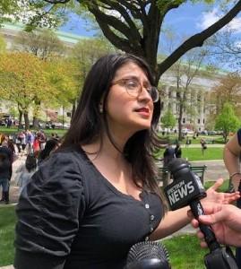 Senadora estatal demócrata de Nueva york, Jessica Ramos en una visita al Capitolio en Washington, D.C. Foto: https://www.wamc.org.