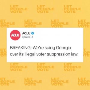La Unión Americana de Libertades Civiles, ACLU, es una de las organizaciones que forma parte de la demanda colectiva contra el SB202.
