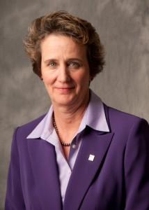 Mary Kay Henry, presidenta del SEIU. Foto: Workplace Fairness.