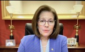 Senadora demócrata por Nevada, Catherine Cortés Masto.