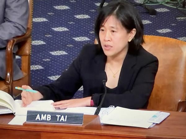 Katherine Tai, representante comercial de la Casa Blanca.
