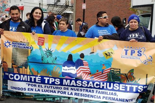 Inmigrantes en Masschusetts defienden el TPS. Foto: https://miracoalition.org.