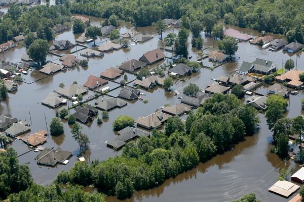 Panorama tras el paso del Huracán Harvey en Houston, Texas. Foto: scincenews.org.