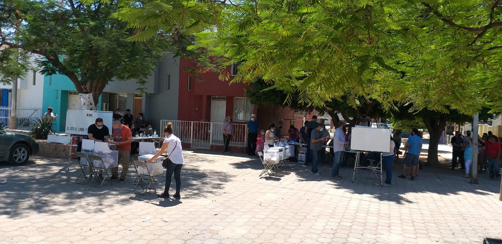 Votación en Hermosillo, Sonora. Foto: Cortesía de Odet Fuentes.