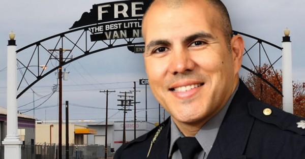 Paco Balderrama, Jefe del Departamento de Policía de la ciudad de Fresno, California, desde hace 6 meses. Foto: https://www.fresnobee.com.