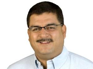 Quique Godoy, analista político guatemalteco. Foto: María Martin.