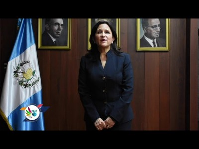 Gloria Porras, Jueza de la Corte Constitucional de Guatemala. Foto: cc.gob.gt.