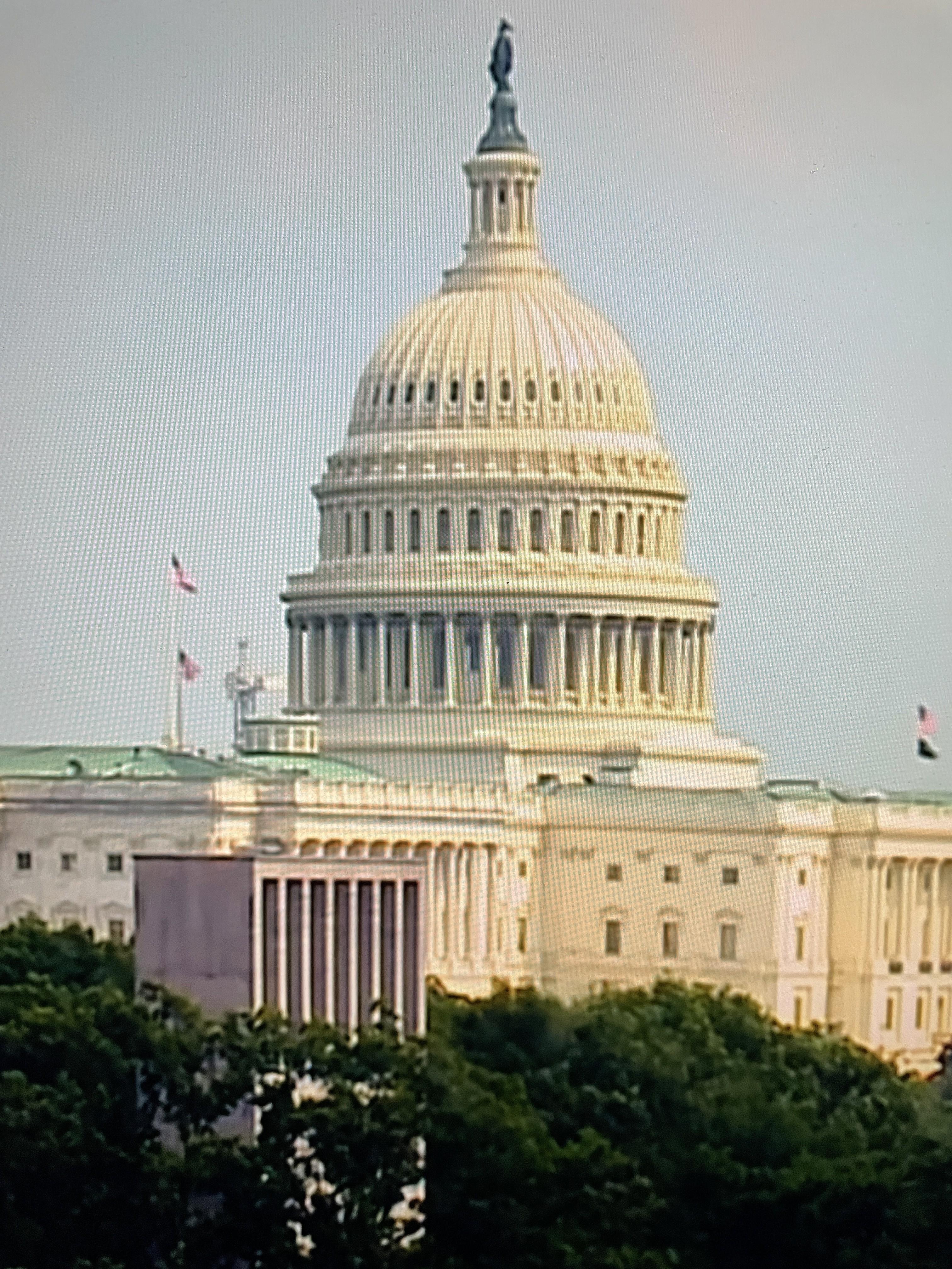 Edificio del Capitoio, que alberga al Congreso de EE UU. Foto: José López Zamorano.