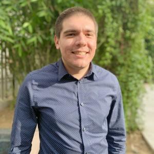 André Barrio, organizador comunitario del Centro de Política de Inmigración de California en Los Ángeles. Foto: Cortesía del Centro.