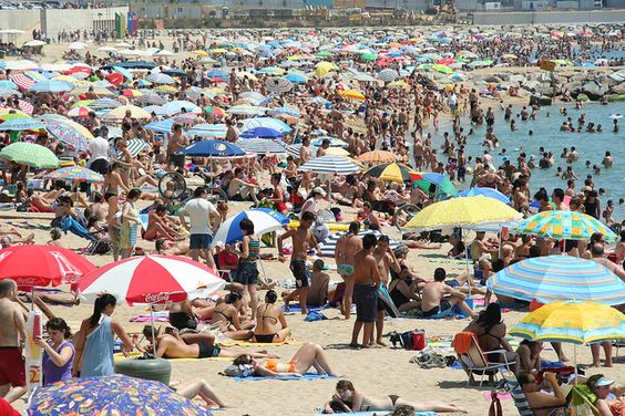 Playas de La Florida a finales de julio de 2021. Foto: https://www.pinterest.com.