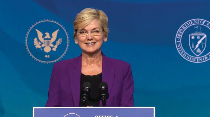 La Secretaria de Energía de Estados Unidos, Jennifer Granholm Foto: CNP/AdMedia/SIPA/Newscom.