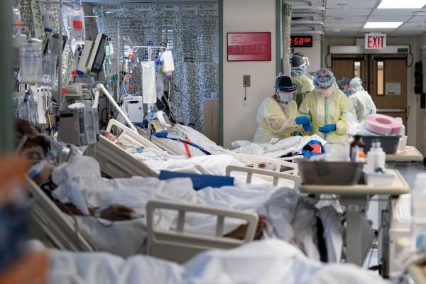 Mientras los hospitales se llenan de pacientes con coronavirus, La Florida quiere saber quién está en las camas de las Unidades de cuidados Intensivos, UCI. Foto: https://www.sun-sentinel.com.