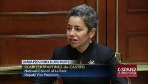 Clarisa Martínez de Castro, de la organización UNIDOS, Foto: https://www.c-span.org.
