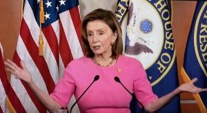 La líder demócrata de la Cámara de Representantes, Nancy Pelosi. Foto: José López Zamorano.
