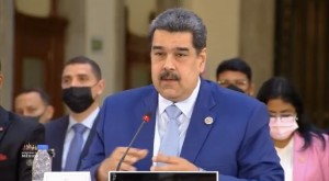 Presidente de la República Bolivariana de Venezuela, Nicolás Maduro. Foto: Presidencia de México.