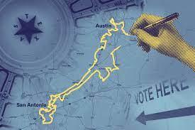 Mediante tácticas de manipulación, los funcionarios electos han hecho que los votos de muchos tejanos efectivamente carezcan de sentido. https://www.aclutx.org/en/campaigns/redistricting-texas.